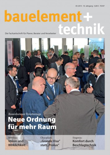 bauelement+technik 5/2015