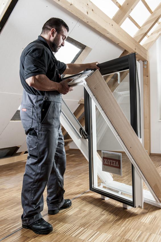 Beliebt Schritt für Schritt: Einbau von Dachfenstern PX07