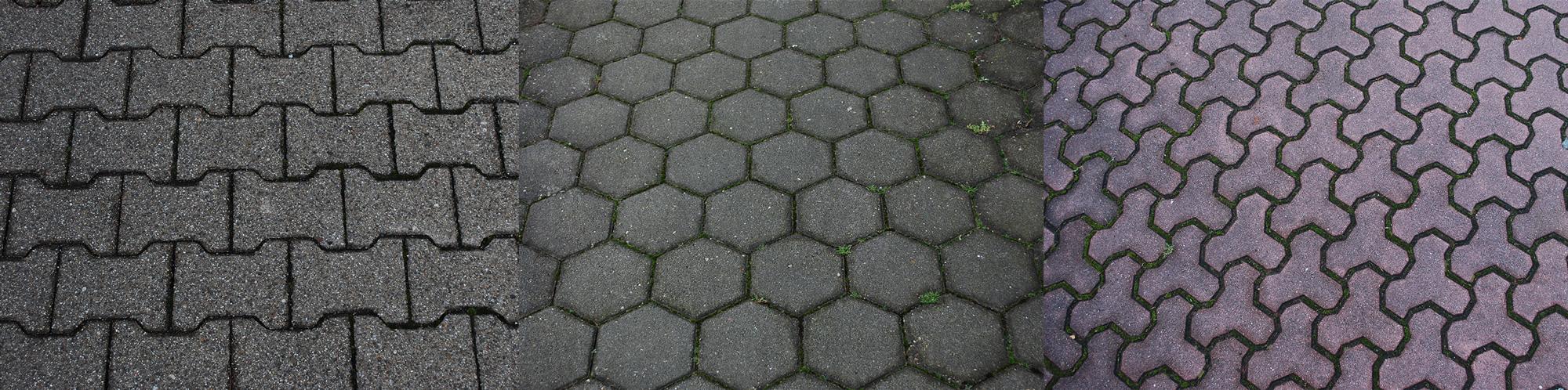 Formen für pflastersteine