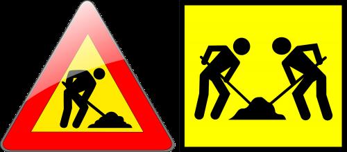 unbeaufsichtigtes Arbeiten, Warnhinweise