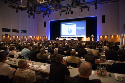 Gesellschafterversammlung der Eurobaustoff 2015 in Leipzig. Foto: Eurobaustoff