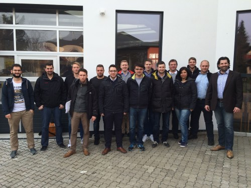 Die Teilnehmer des Seminars zum Fachberater Rohbau. Fotos: Eurobaustoff