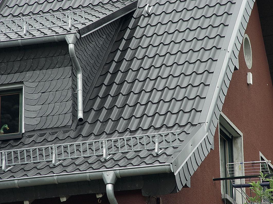 Dacheindeckung Aus Metall Dacher Aus Zink Aluminium Co Dach