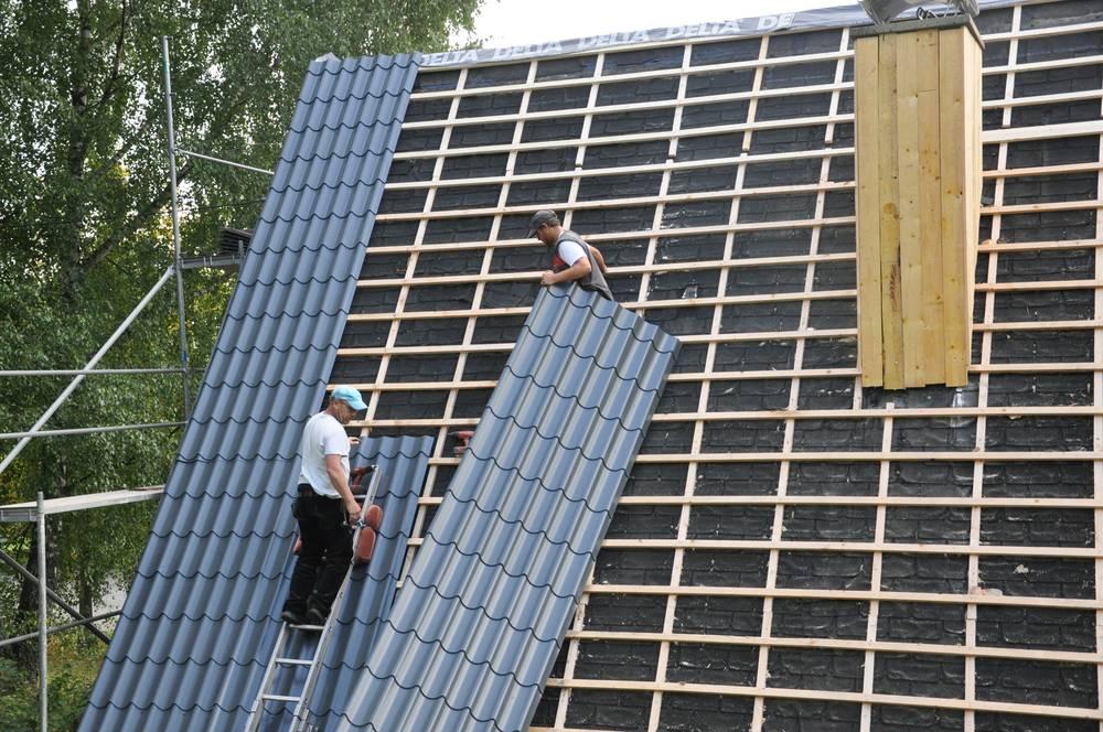 Super Metalldachpfannen: Vor- & Nachteile dieser Dachziegel KL34
