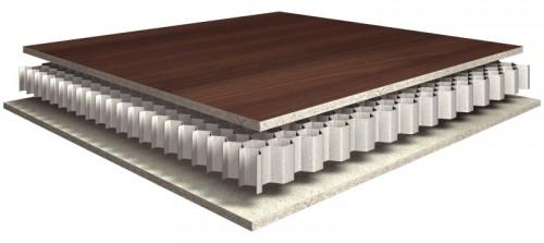 """Einsatzbereich Möbel- und Innenausbau: Leichtbauplatte """"Eurolight"""" vom Hersteller Egger. Grafik: Egger Holzwerkstoffe"""