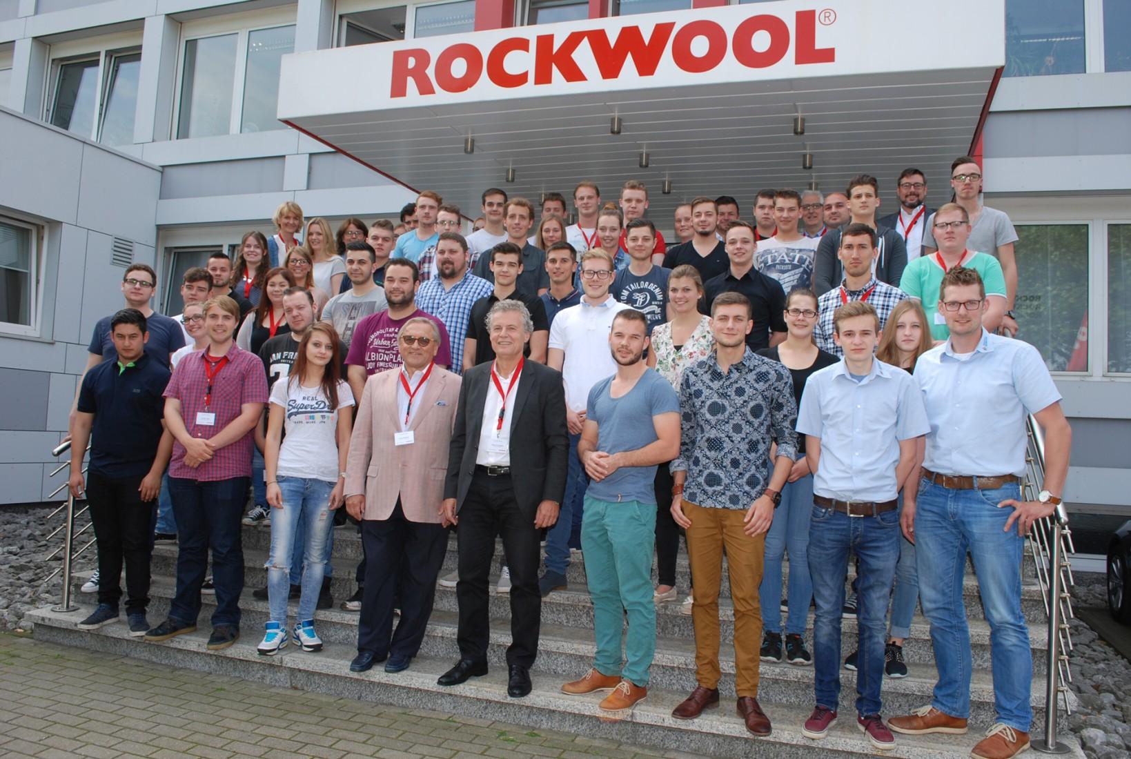 Azubi-Tag bei Rockwool: Knapp 60 Teilnehmer kamen nach Gladbeck