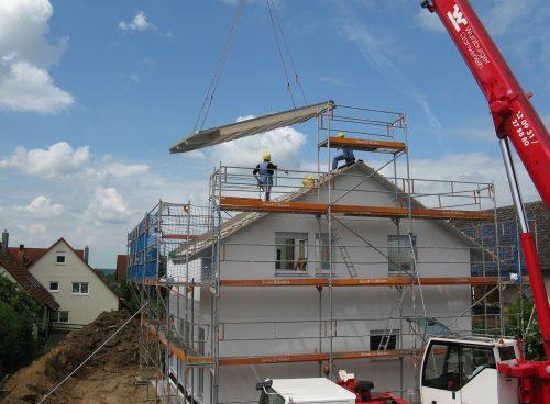 Beim Hausbau dürfen nur zugelassene Bauprodukte zum Einsatz kommen. Foto: Pixabay