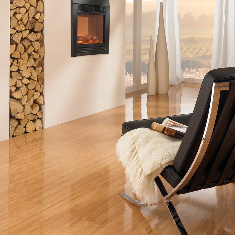 bodenbel ge wie wird hochglanz laminat hergestellt boden holz baustoffwissen. Black Bedroom Furniture Sets. Home Design Ideas