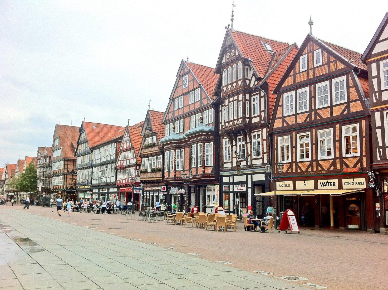 Romantische Fachwerkstadt: Im niedersächsischen Celle ist die alte Baukunst noch heute allgegenwärtig. Foto: Pixabay