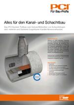 PCI Broschüre Kanal- und Schachtbau