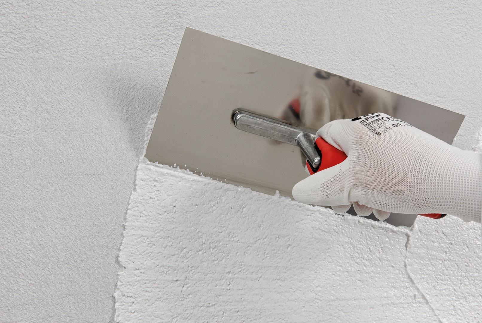 Silikatputz wird häufig im Fassadenbereich verwendet. Foto: Saint-Gobain Weber