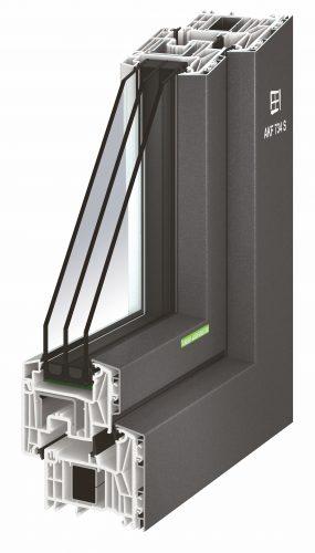 Aluminium-Kunststoff-Fenster liegen preislich zwischen reinen Kunststoff-Fenstern und Holz-Aluminium-Fenstern. Foto Kneer-Südfenster