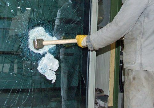 Sicherheitsglas bietet einen guten Schutz vor Einbrüchen. Foto: Nowak Glas/Bundesverband Flachglas