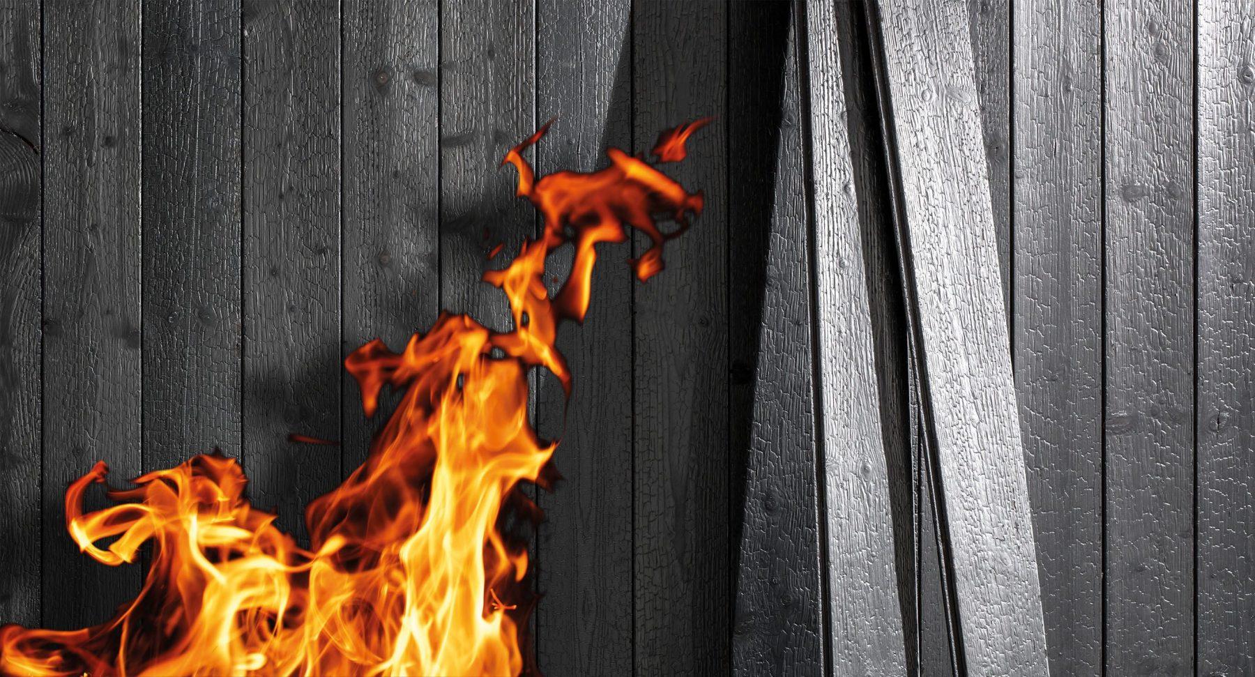 Überraschende Entdeckung: Holz und Feuer harmonisieren prächtig. Foto: Mocopinus
