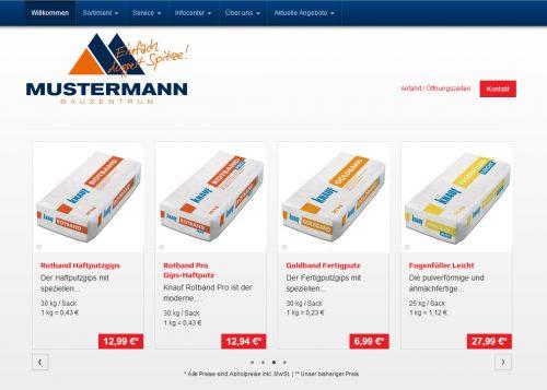 Um den dreistufigen Vertrieb zukunftsfähig zu machen, müssen Baustoff-Fachhändler heute auch eigene Online-Kanäle als Informations- und Verkaufsinstrument einsetzen. Grafik: Eurobaustoff