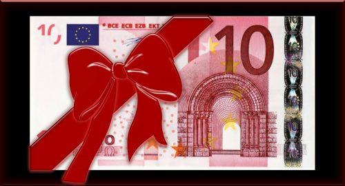 Boni sind eine Art Belohnungsgeschenk für erbrachte Leistungen. Foto: Pixabay