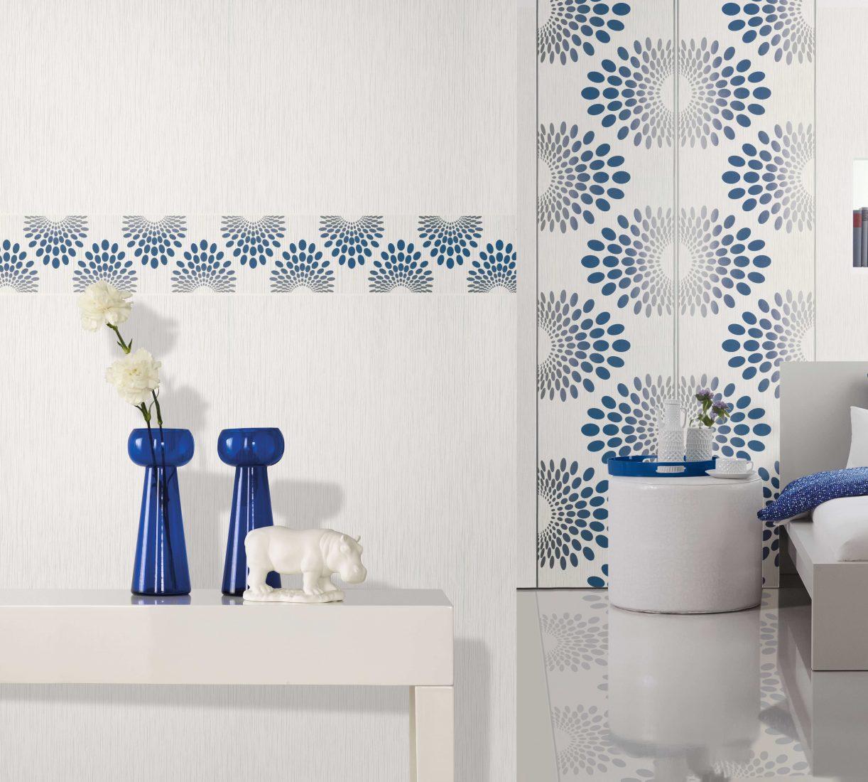 Vielfältige Designs: Tapeten ermöglichen eine individuelle Wohnraumgestaltung. Foto: Marburger Tapetenfabrik