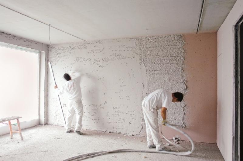 In Innenräumen wird Luftkalkputz wegen seiner positiven Wirkung auf das Raumklima geschätzt. Foto: Schwenk Putztechnik