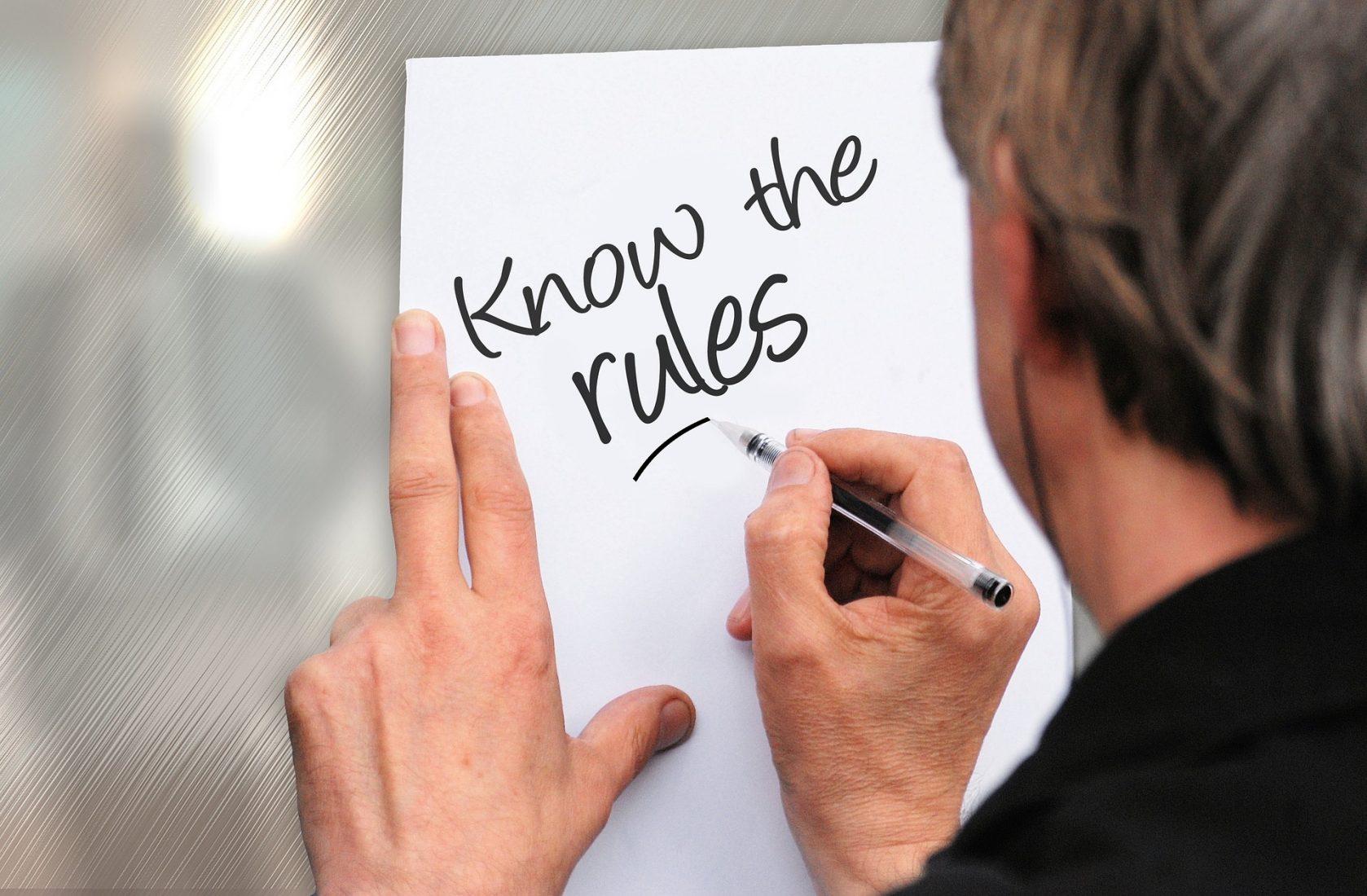 Architekten, Planer und Handwerker sollten die anerkannten Regeln der Technik kennen, bevor sie tätig werden. Foto: Pixabay