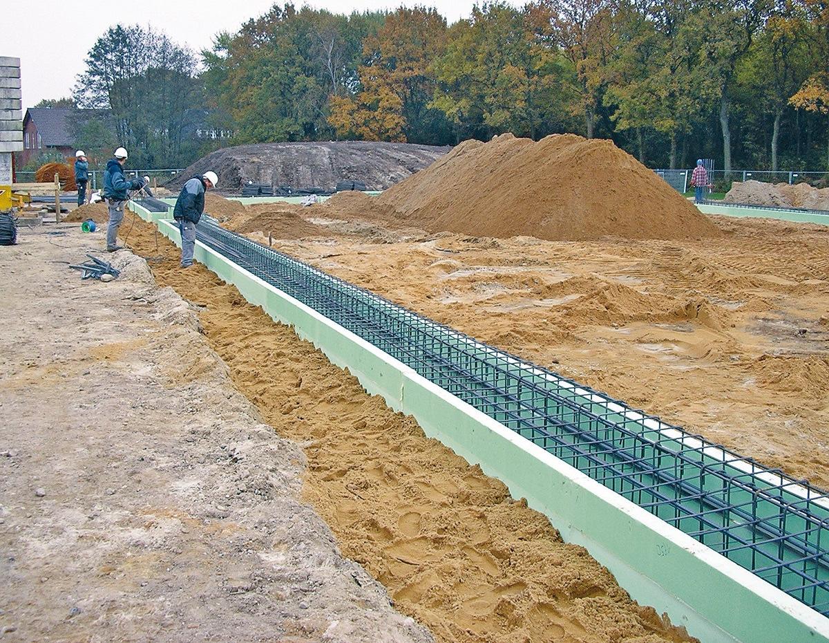 Was Ist Eine Verlorene Schalung Grundstoffe Des Bauens