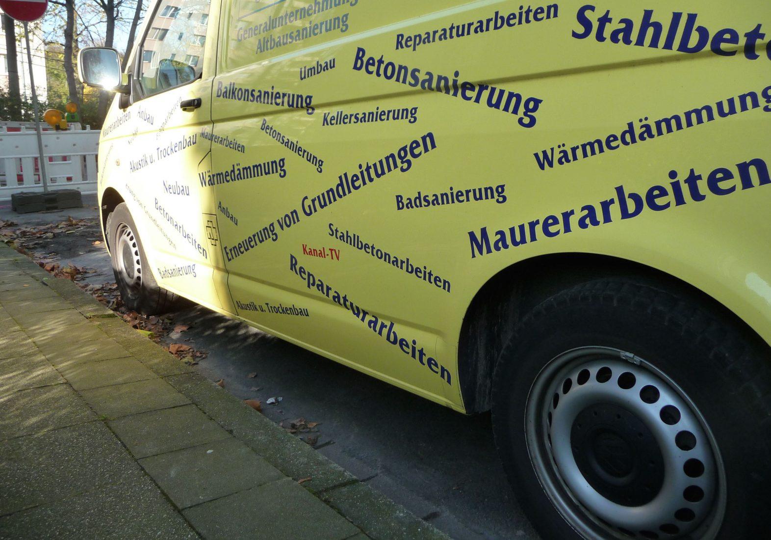 """Mobile Generalisten bieten meist mehrere Gewerke """"aus einer Hand"""". Foto: Grimm"""