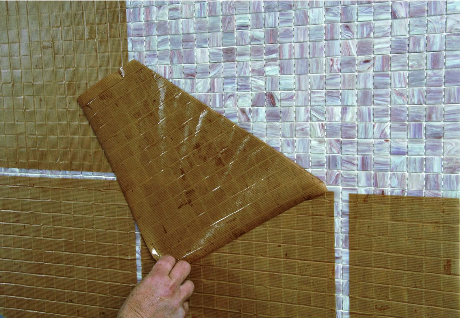 Fabulous Mosaikfliesen: Vorder- oder rückseitig verklebt TC28