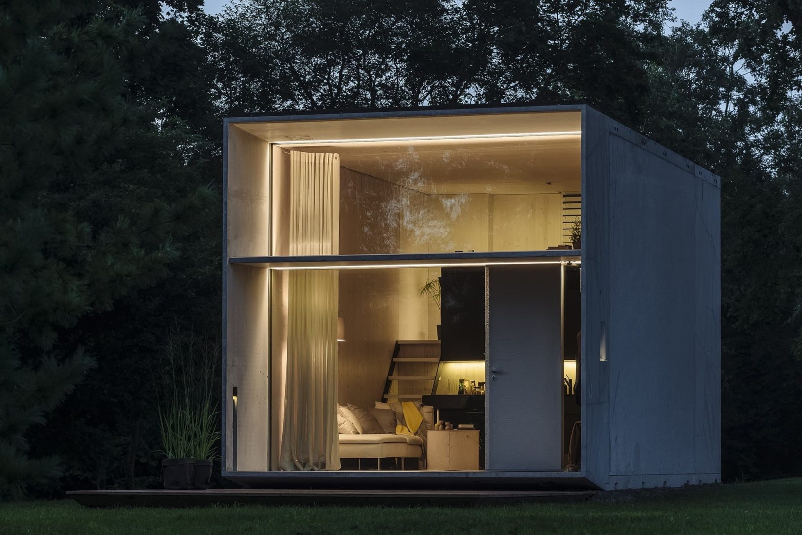 Mikrohaus aus Estland: Dieser 25,8 Quadratmeter große Modulbau wurde vom Architekturbüro Kodasema entworfen. Foto: Kodasema