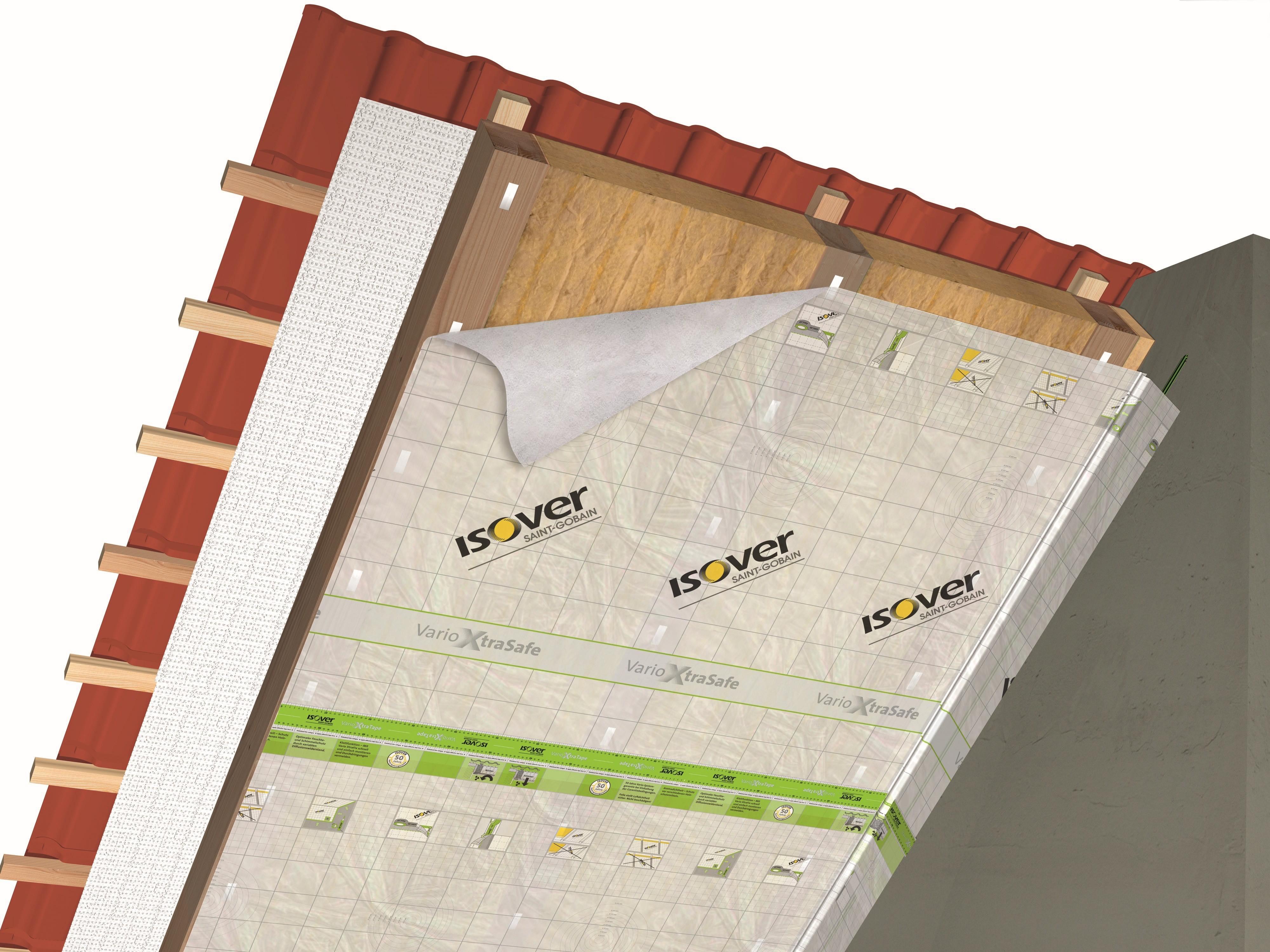 Dampfsperre oder Dampfbremse am Dach - Wo ist der Unterschied?