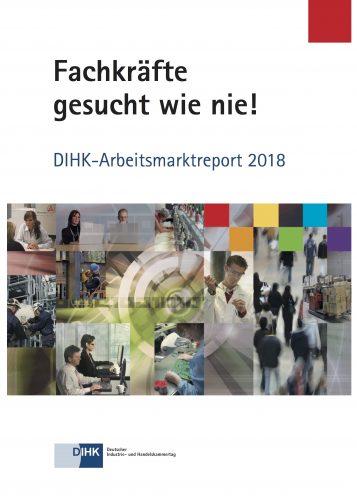 Warnung mit Ausrufezeichen: Der Arbeitsmarktreport 2018 informiert über ein großes Problem des Wirtschaftsstandortes Deutschland.
