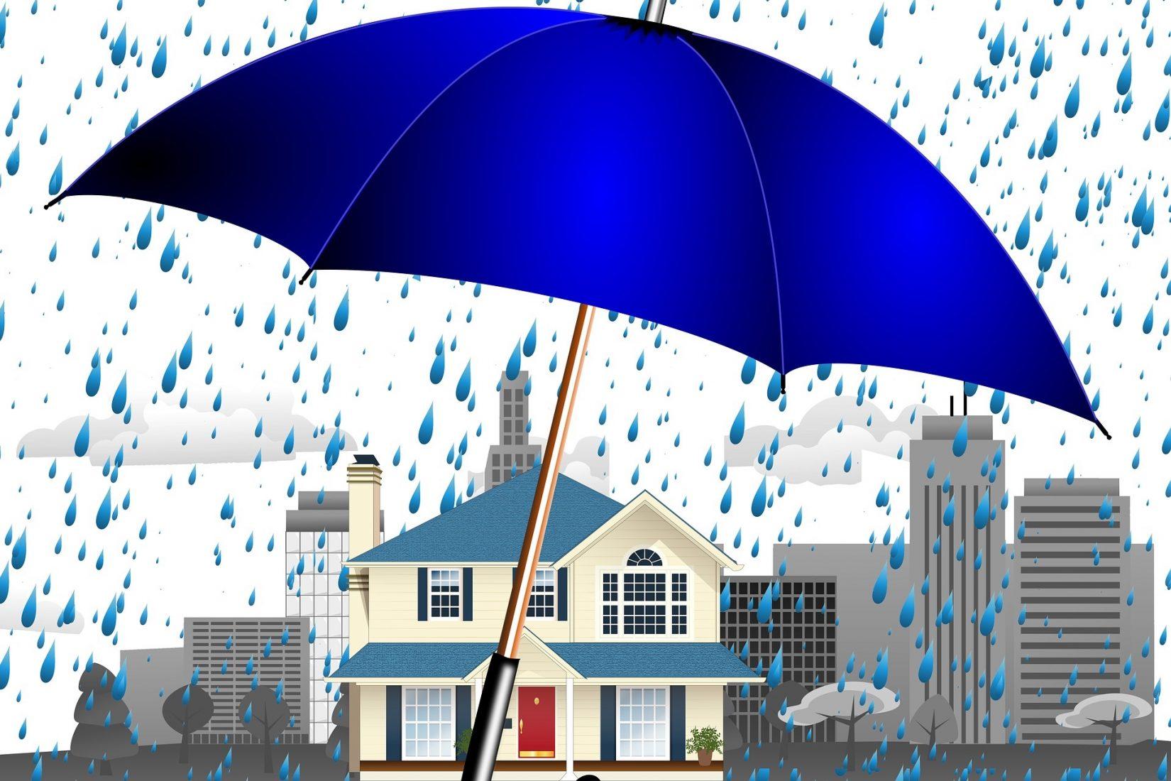 Hausbesitzer könnten ihre Immobilie besser gegen Starkregen schützen, doch es mangelt an Informationen und finanzieller Unterstützung. Foto: Pixabay