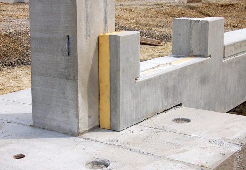 Selbst als Kerndämmung für Betonfertigteile wird das Material heute verwendet.