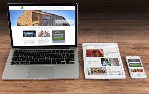 Die neue Website bietet viele Informationen rund um das Thema Holz und Holzprodukte. Foto: GD Holz