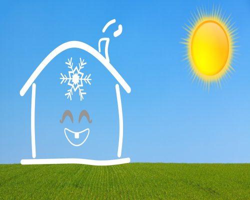 Wenn es trotz äußerer Hitze im Gebäude wohnbehaglich bleibt, liegt das oft am sommerlichen Wärmeschutz. Grafik: Pixabay
