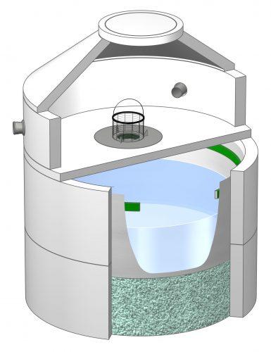 Das Produkt Tecto MVS wurde speziell für Regenwasser von Metalldächern entwickelt. Grafik: Mall