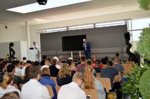 Datenschutz-Vortrag von Thomas Cedzich und Dr. Andre Hojka von der Vater Unternehmensgruppe