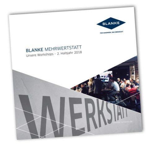 Das neue Workshop-Programm der Blanke Mehrwertstatt ist im Internet downloadbar.
