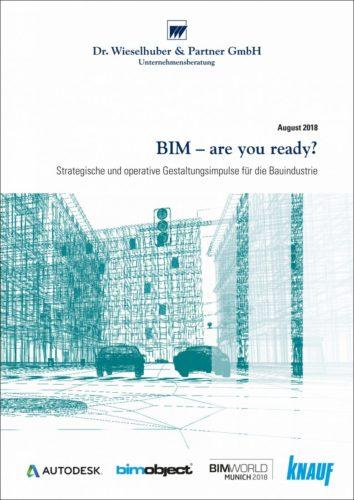 """Die W&P-Studie """"BIM – are you ready?"""" ist im August 2018 erschienen."""