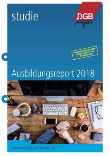Der Report schildert auf 53 Seiten die Ergebnisse der Azubi-Befragung. Bild: DGB-Jugend
