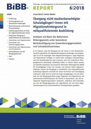 Der aktuelle Report steht unter www.bibb.de/bibbreport kostenlos zum Download bereit.