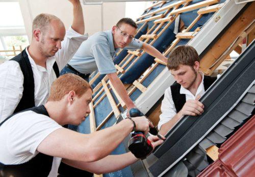 Die drei neuen Seminarangebote richten sich alle an das Dachhandwerk. Foto: Velux