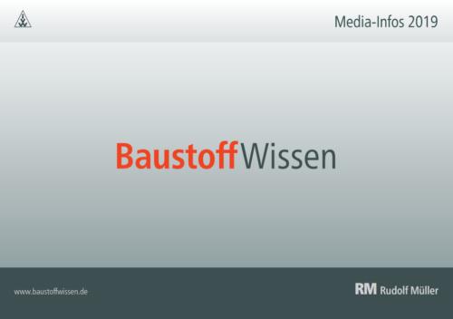 BaustoffWissen Media-Infos 2019
