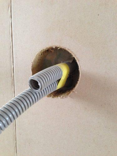 Leicht zu bearbeiten: Auch individuelle Rohrdurchführungen sind problemlos möglich.