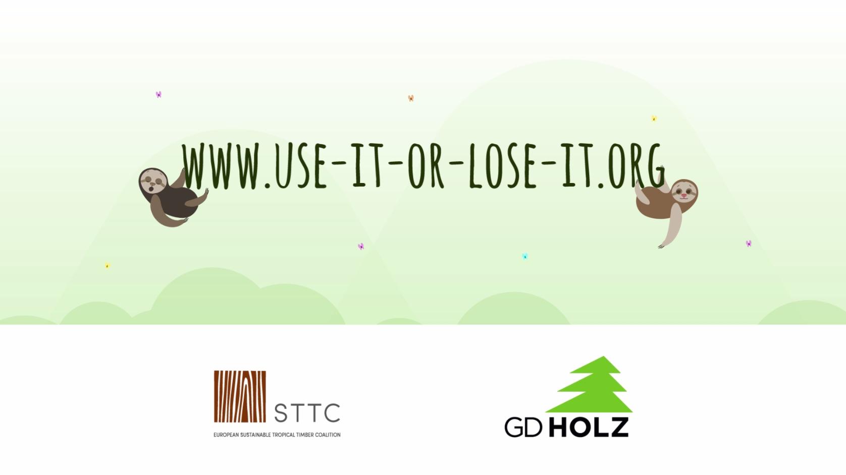 """Dieser Link führt zum Info-Portal """"Holz vom Fach"""" des GD Holz."""