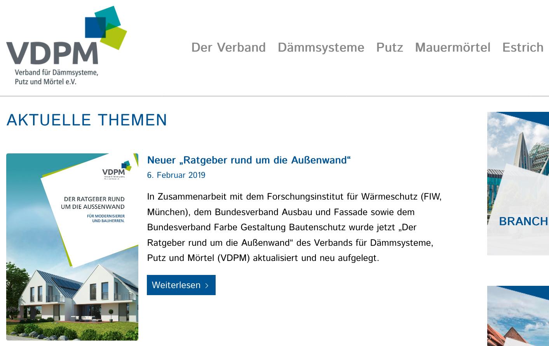 Der Ratgeber steht unter www.vdpm.info zum kostenlosen Download bereit.