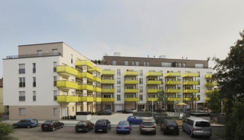 Deutschland braucht deutlich mehr barrierefreie Wohnanlagen wie diesen Neubau im baden-württembergischen Leonberg. Foto: Unipor