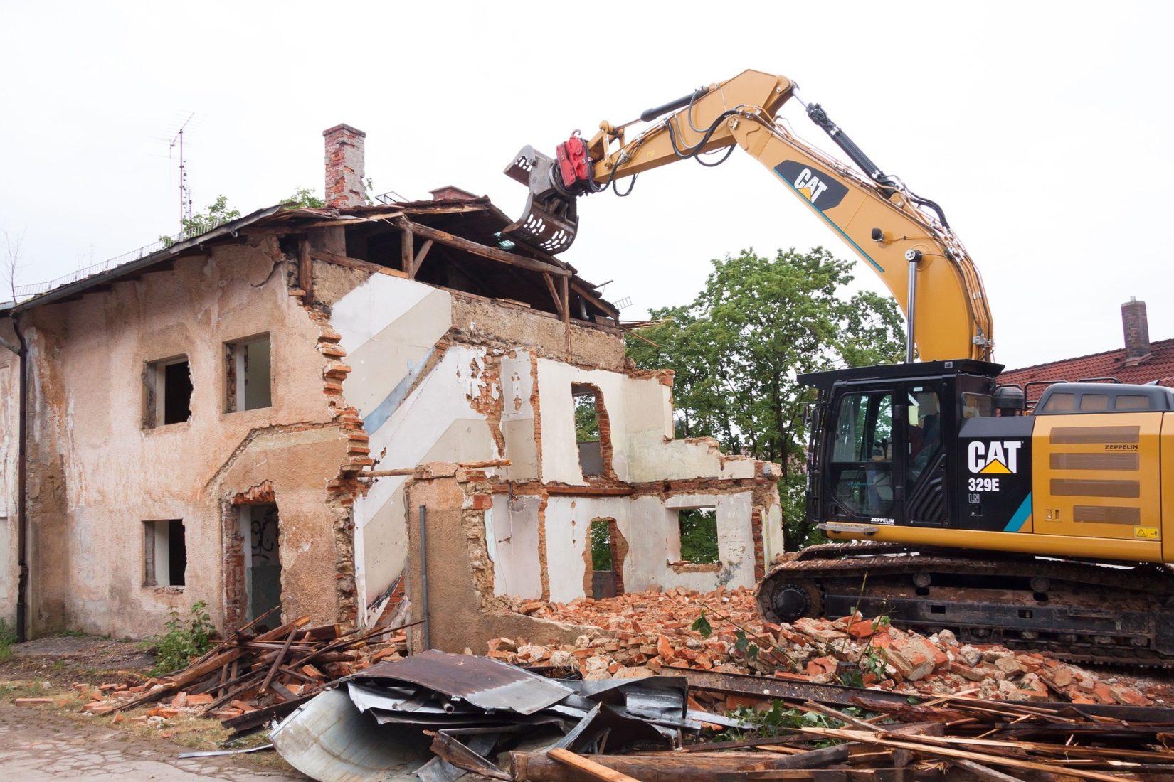 2016 fielen in Deutschland knapp 215 Mio. t ungefährlicher mineralischer Bauabfälle an. Foto: Pixabay