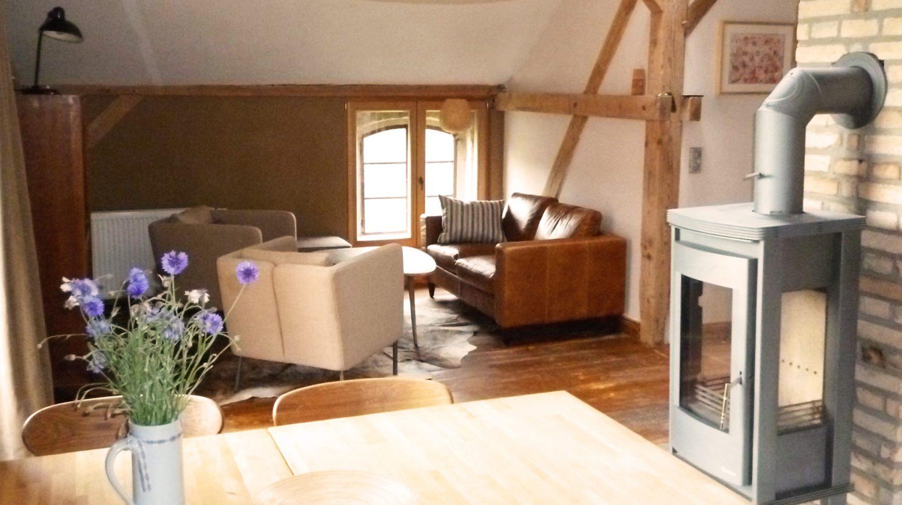 Holzfaser-Innendämmungen sorgen für warme Wände und ein wohngesundes Raumklima. Alle Fotos: Udi Dämmsysteme