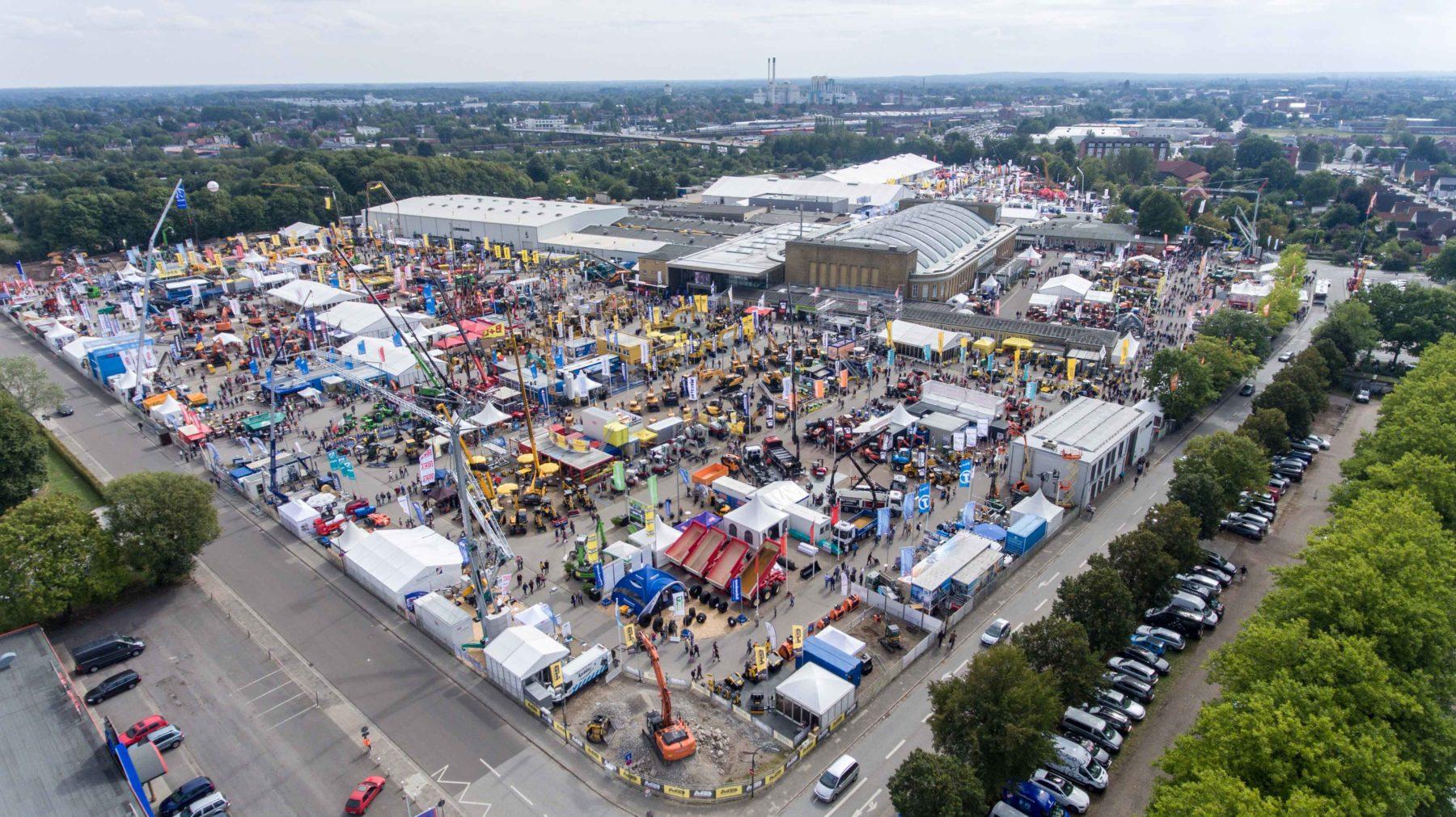 Die Nordbau findet in diesem Jahr vom 11. bis 15. September statt. Foto: Holstenhallen Neumünster/Messe Nordbau/Six Concept