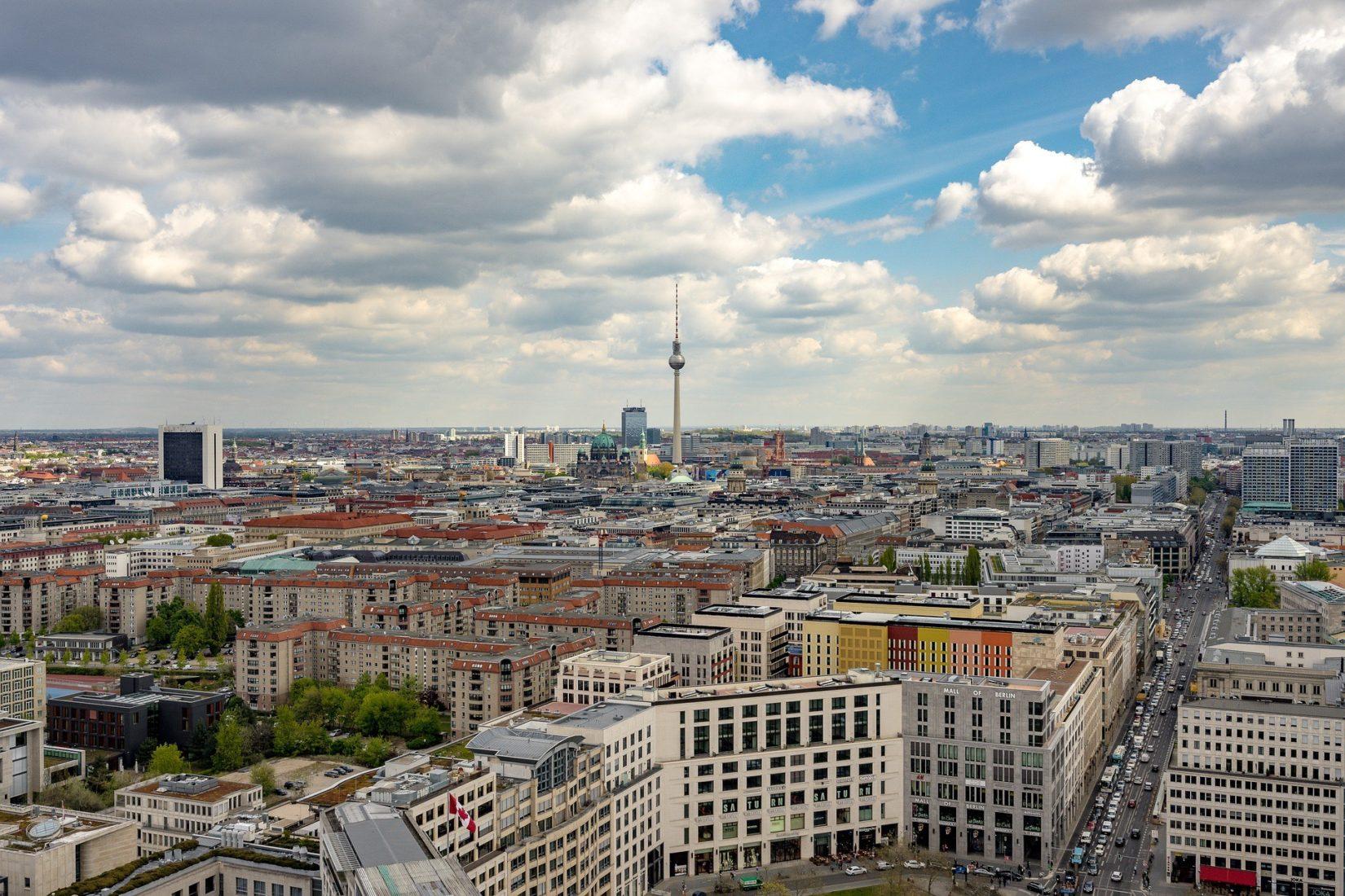 In Berlin stiegen die Baulandpreise zwischen 2011 und 2017 um durchschnittlich 170 %. Foto: Pixabay