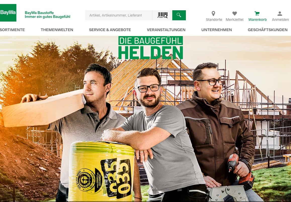 Die Kampagne wird auf www.baugefuehlhelden.de sowie auf Facebook und Instagram bespielt.